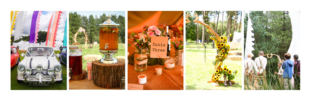 Outdoor Weddings & Festival Wedding with Events Collective