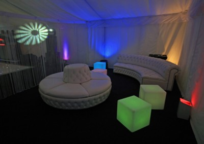 Nightclub Party Chillout Setup Hire