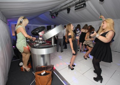 Nightclub Party Event Hire with DJ