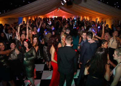 Guests at Private Party Marquee Hire