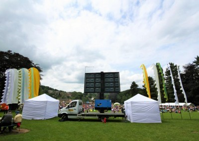 tour de yorkshire big screen event hire